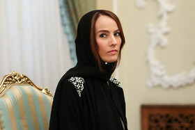 President of Inter-Parliamentary Union Gabriella Cuebas Barron is seen in her meeting with Iranian President Hassan Rouhani (not pictured) in Tehran, Iran, June 23, 2019.