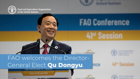 Qu Dongyu of China new Director-General of FAO