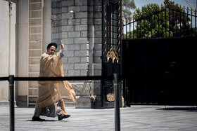 """Iran's Intelligence Minister Mahmoud Alavi is seen on the sidelines of Iran's weekly cabinet session, Tehran, Iran, June 26, 2019. Speaking on Wednesday at Iran's weekly cabinet session, Mr Rouhani congratulated national week of Iran's Judiciary and said, """"The way to reach security, freedom, welfare and Iran's honour is following the path of Islam, Imam Ali (PBUH), Imam Khomeini and Doctor Beheshti and all of us should put in extra effort for serving people""""."""