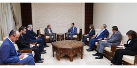 Zarif's senior assistant holds talks with Syrian President