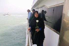 Marking the 31st anniversary of Iran Air Flight 655 martyrs in the presence of their families, Iran, July 3, 2019.