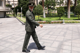 Iran's Defense Minister Brigadier General Amir Hatami is seen on the sidelines of Iran's weekly cabinet session, Tehran, Iran, July 3, 2019.