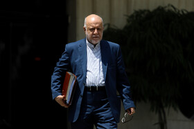 Iran's Oil Minister Bijan Zanganeh is seen on the sidelines of Iran's weekly cabinet session, Tehran, Iran, July 3, 2019.