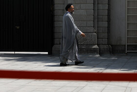 Iran's Intelligence Minister Mahmoud Alavi is seen on the sidelines of Iran's weekly cabinet session, Tehran, Iran, July 3, 2019.