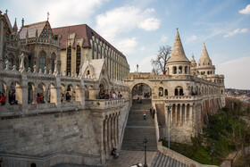 Matthias Church is seen in the photo, Budapest, Hungary, July 7, 2019.