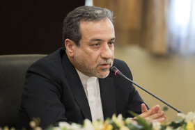 Deputy Iranian Foreign Minister Abbas Araghchi delivers a speech in the joint press conference to announce Iran's latest cut in its obligations under the Joint Comprehensive Plan of Action (JCPOA), Tehran, Iran, July 7, 2019.