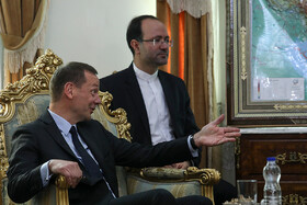 French President Emmanuel Macron's top diplomatic advisor Emmanuel Bonne is seen in his meeting with the secretary of Iran's Supreme National Security Council Ali Shamkhani (not pictured), Tehran, Iran, July 10, 2019. The French official's visit to Iran was arranged due to the recent telephone conversation between Iranian President Hassan Rouhani and his French counterpart Emmanuel Macron.