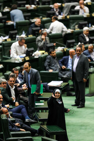 Open session of Iran's Parliament, Tehran, Iran, July 14, 2019. In this session, a bill to amend the law on the citizenship of children whom their Iranian mothers are married to foreign men was on the agenda.