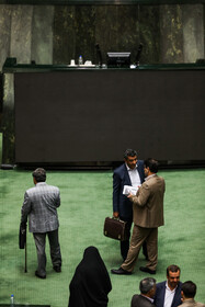 On the sidelines of open session of Iran's Parliament, Tehran, Iran, July 14, 2019. In this session, a bill to amend the law on the citizenship of children whom their Iranian mothers are married to foreign men was on the agenda.