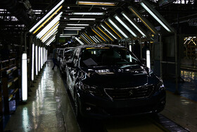 Production line of Peugeot 301 sedan is inaugurated in Tehran, Iran, July 15, 2019.