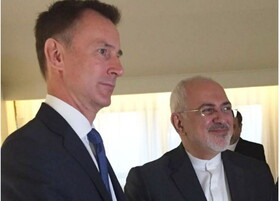 Zarif, Hunt hold phone talks