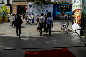 On the sidelines of the last day of Iran's ELECOMP 2019, Tehran, Iran, July 21, 2019.
