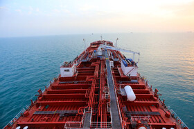 """Stena Impero oil tanker is seen in the photo, Iran, July 21, 2019. A British oil tanker called """"Stena Impero"""" was captured by Iran's IRGC on Friday July 19 for breaching international maritime law while crossing the Strait of Hormuz."""