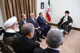 Iran's Leader meets Hamas Deputy Chief