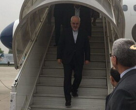 Zarif arrives in Bolivia