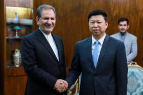 Iran's Jahangiri receives delegation of Communist Party of China