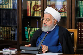 Iranian President Hassan Rouhani is present in the meeting of the Drug Control Headquarters, Tehran, Iran, July 30, 2019.