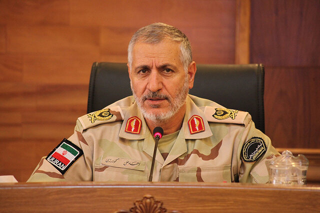General Ahmad Ali Goudarzi appointed as Border Guards Commander