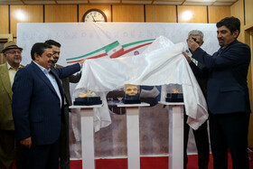 Synthetic bones are unveiled, Tehran, Iran, August, 3, 2019. The researchers of Shahid Beheshti University located in Tehran have successfully developed a bone-like tissue by using the combination of polymer and ceramic. The synthetic bones are 3D printed and have been successfully implanted in the bodies of five patients.