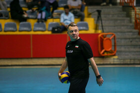 Head Coach of Iran Men's National Volleyball team Igor Kolakovic is present during the training session of his team, Tehran, Iran, August 4, 2019. Iran Men's National Volleyball Team will compete in the Intercontinental Qualification Tournaments alongside Russia, Cuba and Mexico to earn the direct quota to Tokyo 2020 Olympic Games.