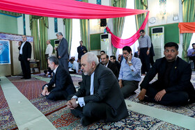 """Iranian Foreign Minister Mohammad Javad Zarif is seen on the sidelins of his news conference with international and local media, Tehran, Iran, August 5, 2019. During the press conference with international and local media, Iranian Foreign Minister said, """"Iran will never purchase its security and progress. Our security and progress stem from our own people. No matter how much pressure they put on us, we walked on our own path and succeeded because we relied on our people""""."""