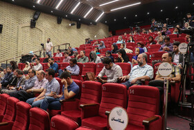 Press conference of the 32nd International Film Festival for Children and Youth, Tehran, Iran, August 6, 2019. Established in 1982, the International Film Festival for Children and Young Adults (ICFF) is an annual film festival held in the historic city of Isfahan, Iran.