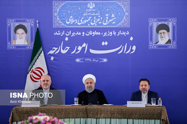 Extensive interaction with world recommended by Supreme Leader, entire system's decision: Rouhani