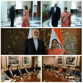 Zarif condoles with India on passing of Sushma Swaraj