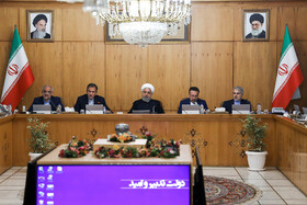 Iran's weekly cabinet session, Tehran, Iran, August 7, 2019.