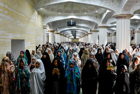 Offering prayers of Eid-al Adha in Tabriz, Iran, August 12, 2019. Eid al-Adha also known as Eid Qurban, is an Islamic holiday which commemorates God's testing of Abraham's faith by commanding him to sacrifice his son, Ismail.