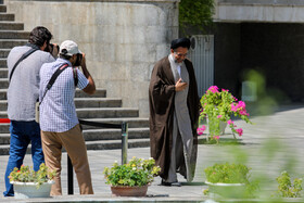 """Iranian Intelligence Minister Mahmoud Alavi is seen on the sidelines of Iran's weekly cabinet session, Tehran, Iran, August 14, 2019. Speaking on Wednesday in a cabinet session, President Hassan Rouhani said, """"All propaganda about a new coalition in the Persian Gulf and the Sea of Oman are impractical and superficial. Without a doubt, if a part of this propaganda is put into action, they will not be beneficial for the security of the region""""."""