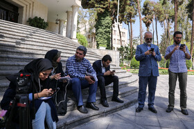 """On the sidelines of Iran's weekly cabinet session, Tehran, Iran, August 14, 2019. Speaking on Wednesday in a cabinet session, President Hassan Rouhani said, """"All propaganda about a new coalition in the Persian Gulf and the Sea of Oman are impractical and superficial. Without a doubt, if a part of this propaganda is put into action, they will not be beneficial for the security of the region""""."""