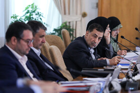 """Iran's weekly cabinet session, Tehran, Iran, August 14, 2019. Speaking on Wednesday in a cabinet session, President Hassan Rouhani said, """"All propaganda about a new coalition in the Persian Gulf and the Sea of Oman are impractical and superficial. Without a doubt, if a part of this propaganda is put into action, they will not be beneficial for the security of the region""""."""