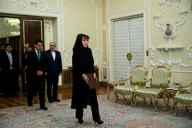 New Bolivian ambassador in Tehran presents her credentials to Iranian President Hassan Rouhani, Tehran, Iran, August 18, 2019.