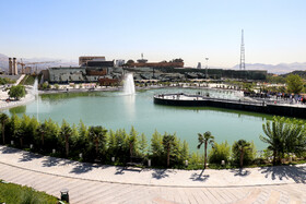 Tehran's Honar Lake, Garden inaugurated
