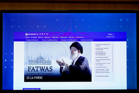 The ceremony for launching three new languages of French, Spanish and Russian for Khamenei.ir, the official website of Ayatollah Ali Khamenei, Tehran, Iran, August 19, 2019.