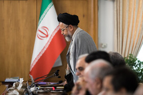 Iran's Intelligence Minister Mahmoud Alavi is present in Iran's weekly cabinet session, Tehran, Iran, August 21, 2019.
