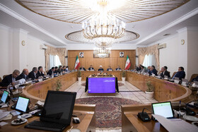 Iran's weekly cabinet session, Tehran, Iran, August 21, 2019.