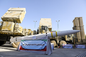 Bavar-373 air defense system is unveiled in the presence of Iranian President Hassan Rouhani, Tehran, Iran, August 22, 2019.
