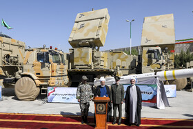 Bavar-373 air defense system unveiled in presence of Iranian President