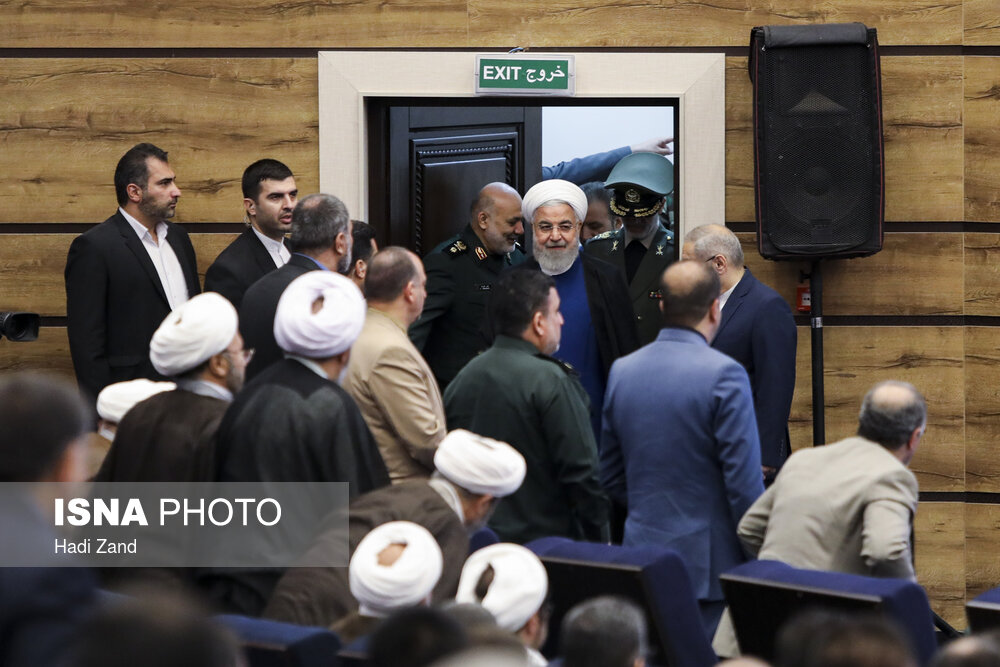 ISNA - Bavar-373 air defense system unveiled in presence of