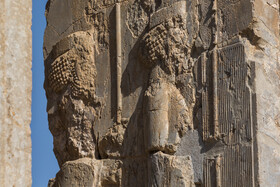 Sad story of damages to Persepolis, Shiraz, Iran, August 24, 2019.
