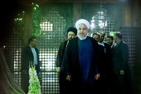 Iranian President, cabinet Ministers renew allegiance to Imam Khomeini's ideals