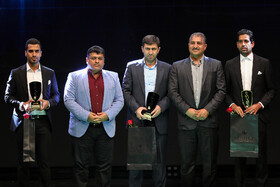 Award ceremony for bests of Iran's football, futsal and beach soccer, Tehran, Iran, August 24, 2019.