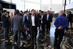 Former Iranian football player Vahid Hashemian is present in the award ceremony for bests of Iran's football, futsal and beach soccer, Tehran, Iran, August 24, 2019.