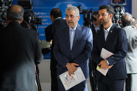 Iranian Energy Minister Reza Ardakanian is present during the ceremony for government's achievements in developing rural infrastructure, Tehran, Iran, August 26, 2019.