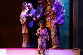Closing ceremony of 32nd International Film Festival for Children and Youth, Isfahan, Iran, August 26, 2019.