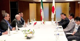 Iran, Japan FMs hold talks