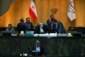 Public session of Iran's Parliament, Tehran, Iran, August 27, 2019. Mohsen Haj Mirzaei, the proposed Iranian Education Minister attended in today's parliamentary session.