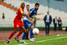 Match between Esteghlal FC and Foolad FC, Tehran, Iran, August 29, 2019.